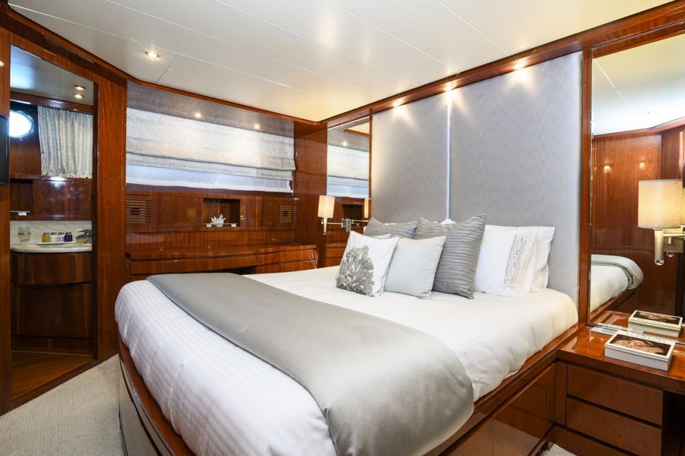 Zen - Luxury Motor Yacht For Sale - VIP Cabin - Img 2 | C&N