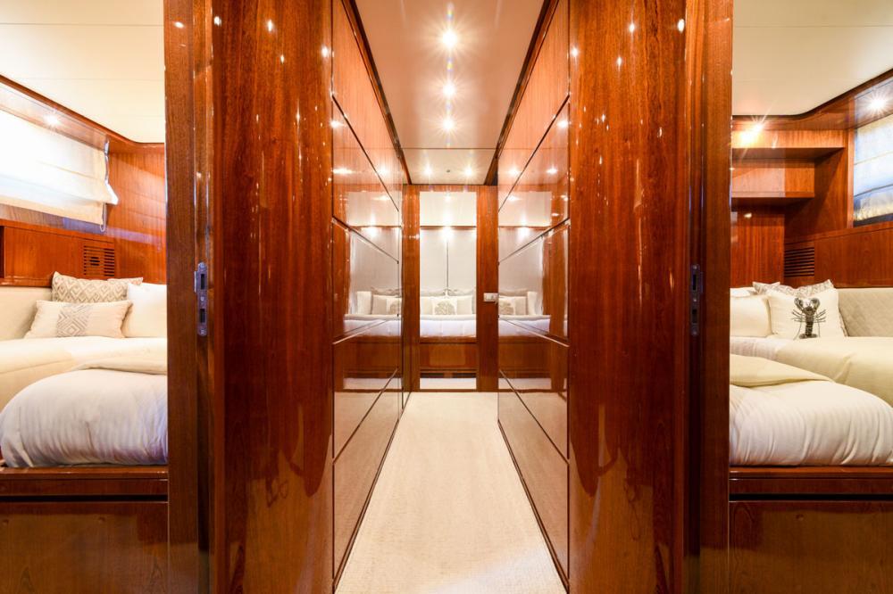 Zen - Luxury Motor Yacht For Sale - Master Cabin - Img 4 | C&N