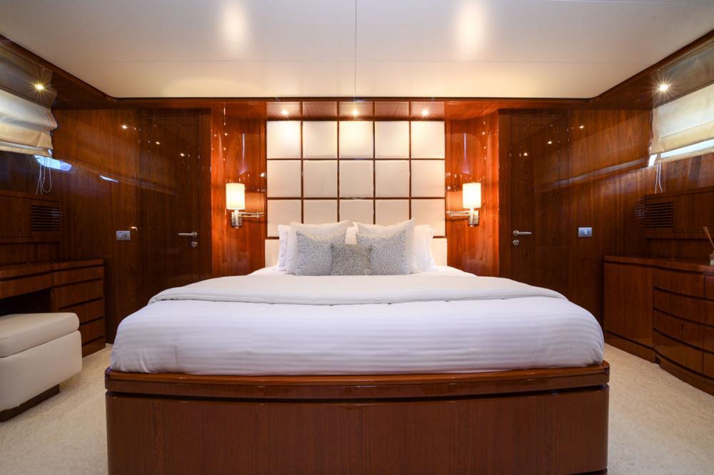 Zen - Luxury Motor Yacht For Sale - Master Cabin - Img 1 | C&N