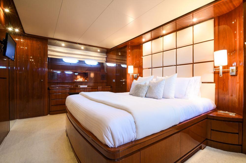 Zen - Luxury Motor Yacht For Sale - Master Cabin - Img 3 | C&N