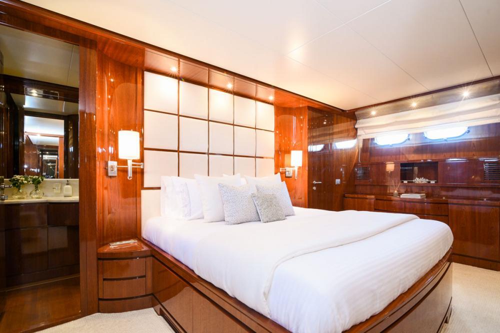 Zen - Luxury Motor Yacht For Sale - Master Cabin - Img 2 | C&N