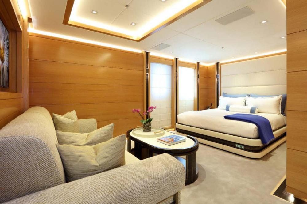 FORMOSA - Luxury Motor Yacht For Charter - Two similar sized VIP double cabins on the main deck - Img 2   C&N