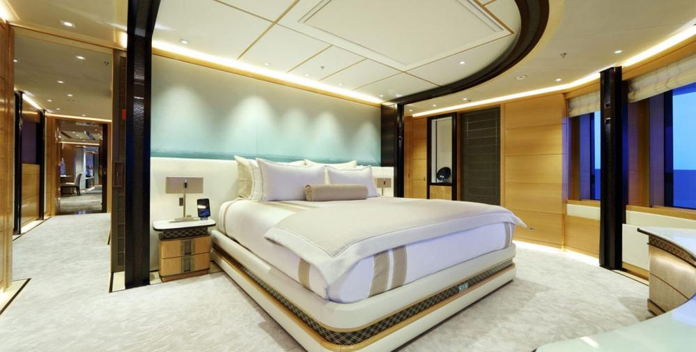 FORMOSA - Luxury Motor Yacht For Charter - Owner's suite on the upper deck - Img 1   C&N