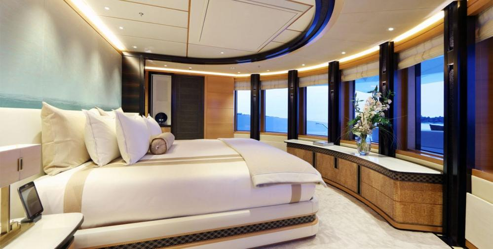 FORMOSA - Luxury Motor Yacht For Charter - Owner's suite on the upper deck - Img 2   C&N