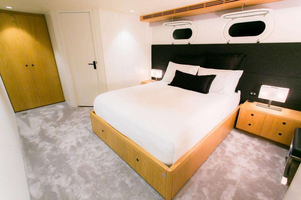 SAHANA - Luxury Motor Yacht For Charter - Cabin 3 - Img 2 | C&N