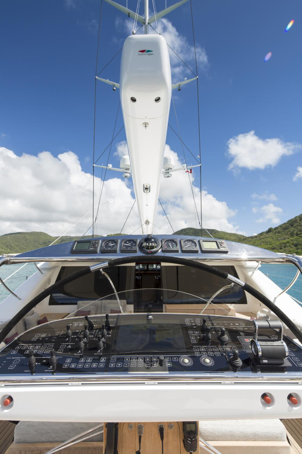 STATE OF GRACE - Luxury Sailing Yacht For Charter - BRIDGE - Img 1 | C&N