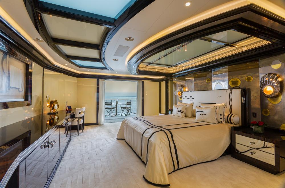 OKTO - Luxury Motor Yacht For Charter - 1 MASTER CABIN - Img 1 | C&N