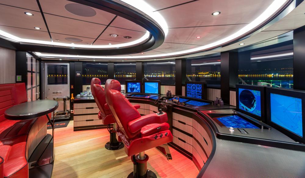 OKTO - Luxury Motor Yacht For Charter - BRIDGE - Img 1 | C&N