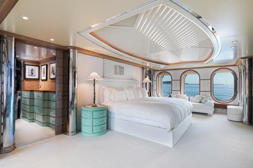 SEA HUNTRESS - Luxury Motor Yacht For Sale - On deck master stateroom - Img 1 | C&N