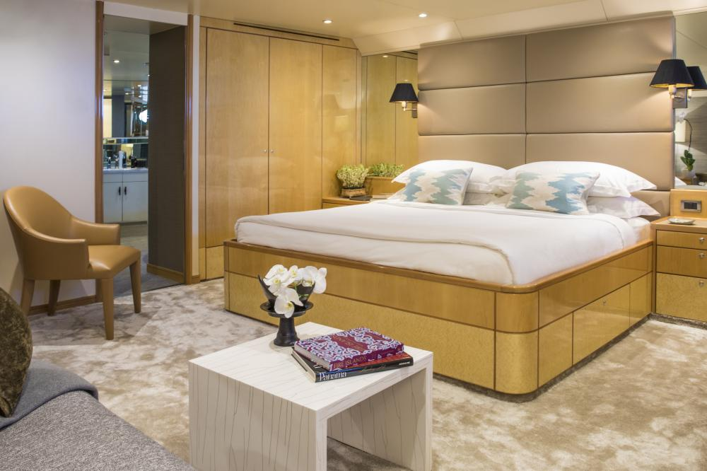 AQUA BLU - Luxury Motor Yacht For Charter - 15 Individually-designed suites  - Img 3 | C&N
