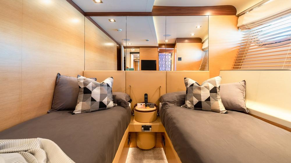 AFRICA I - Luxury Motor Yacht For Charter - Two Twin Cabins - Img 2 | C&N