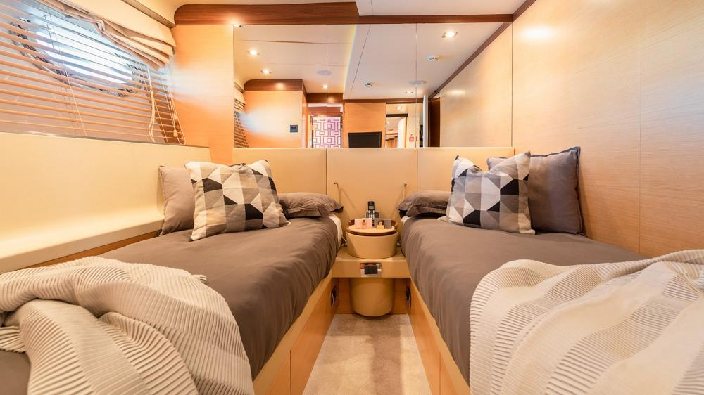 AFRICA I - Luxury Motor Yacht For Charter - Two Twin Cabins - Img 1 | C&N