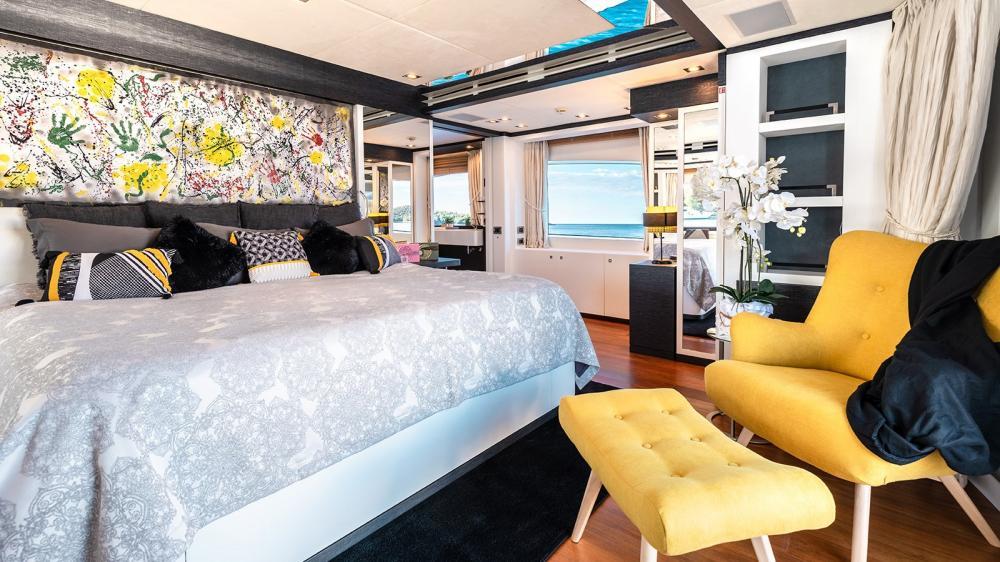 AFRICA I - Luxury Motor Yacht For Charter - Full-beam Master Cabin - Img 2 | C&N