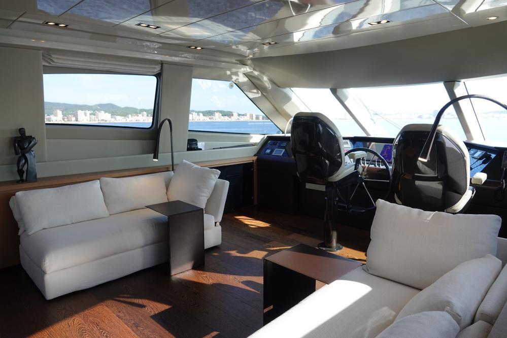 IL GATTOPARDO - Luxury Motor Yacht For Sale - Pilothouse - Img 1   C&N