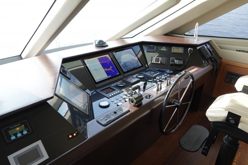 IL GATTOPARDO - Luxury Motor Yacht For Sale - Pilothouse - Img 2   C&N