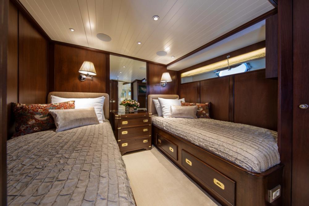ODYSSEY III - Luxury Motor Yacht For Sale - Two Twin Cabins - Img 1   C&N