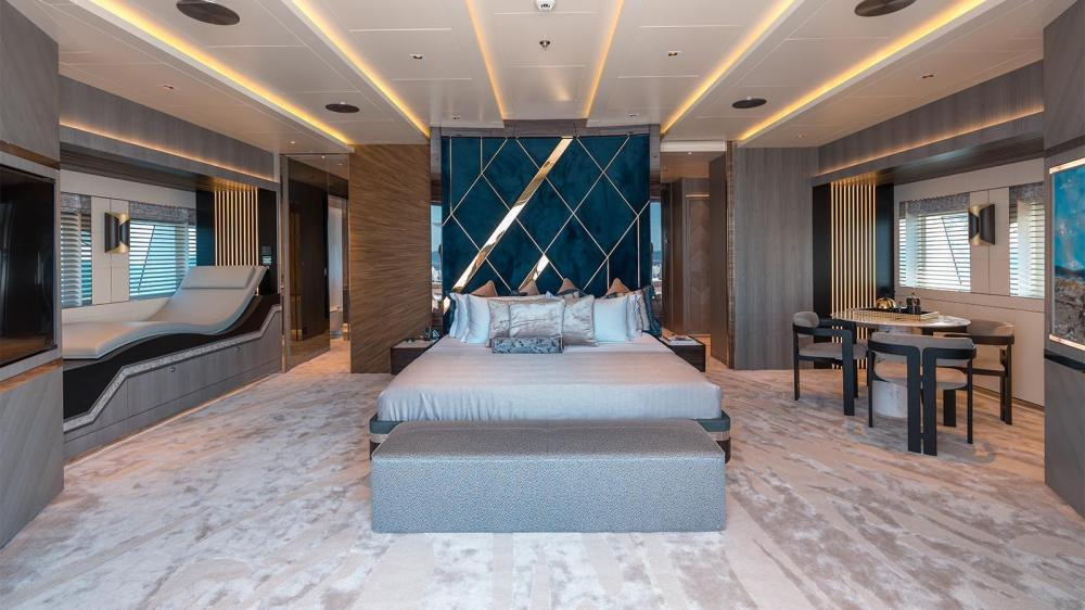 TATIANA - Luxury Motor Yacht For Charter - Master Suite - Img 1   C&N