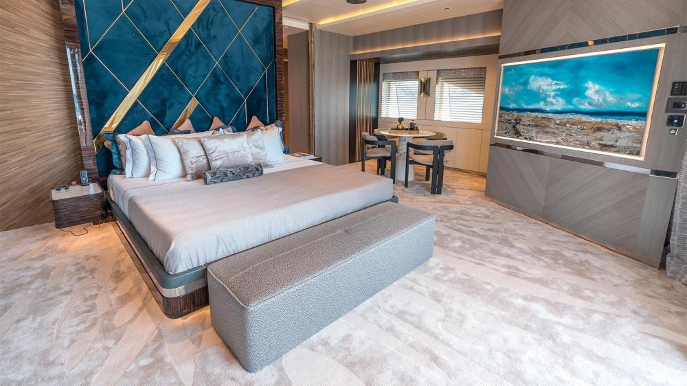 TATIANA - Luxury Motor Yacht For Charter - Master Suite - Img 2   C&N