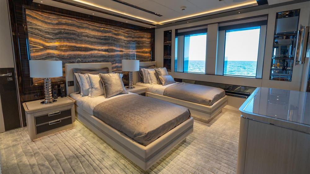 TATIANA - Luxury Motor Yacht For Charter - Two VIP Cabins   Four Double Cabins   One Twin Cabin - Img 1   C&N