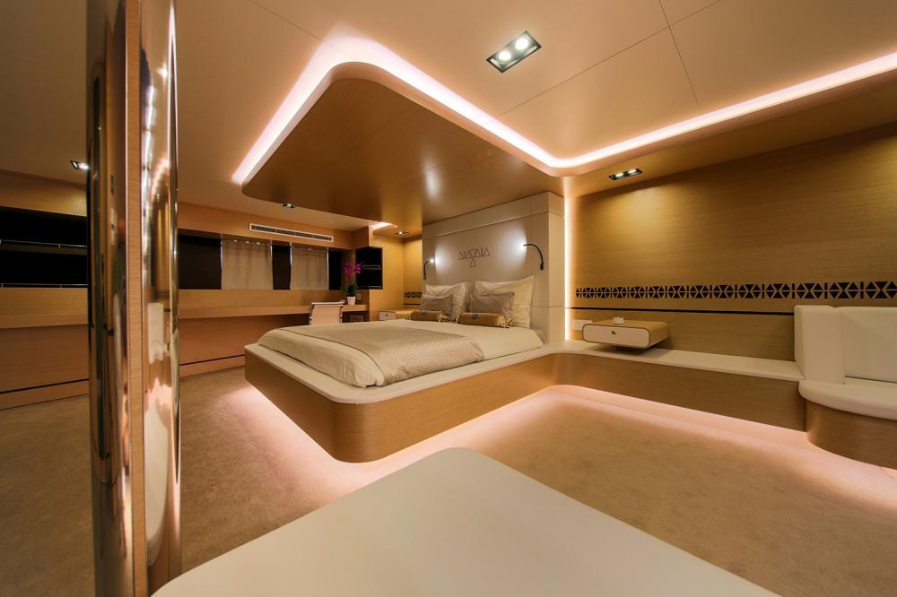 AIAXAIA - Luxury Sailing Yacht For Charter - VIP cabin - Img 2 | C&N