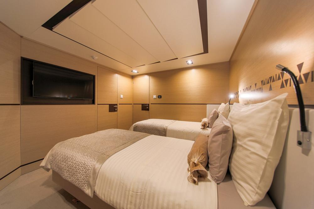 AIAXAIA - Luxury Sailing Yacht For Charter - 2 Twin Cabins - Img 1 | C&N