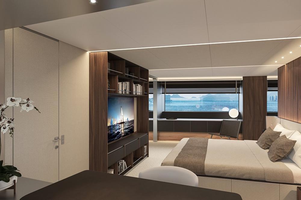 SANLORENZO 500 EXP #146 - Luxury Motor Yacht For Sale - 5 Cabins - Img 3 | C&N