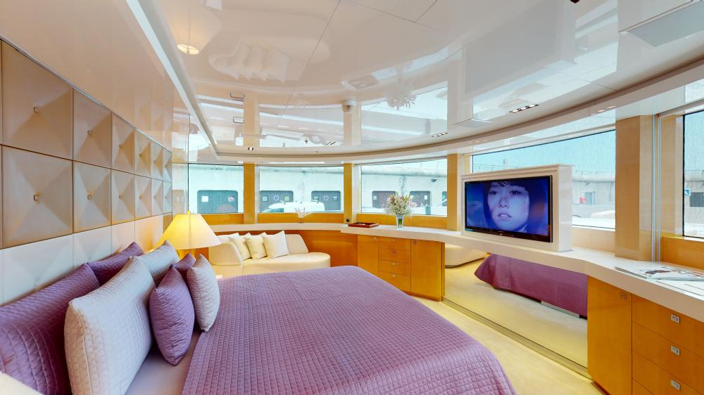 LA PELLEGRINA 1 - Luxury Motor Yacht For Sale - Full Beam VIP Cabin + Four Guest Suites - Img 2 | C&N