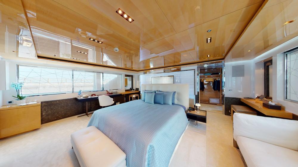 LA PELLEGRINA 1 - Luxury Motor Yacht For Sale - Master Suite - Img 1 | C&N