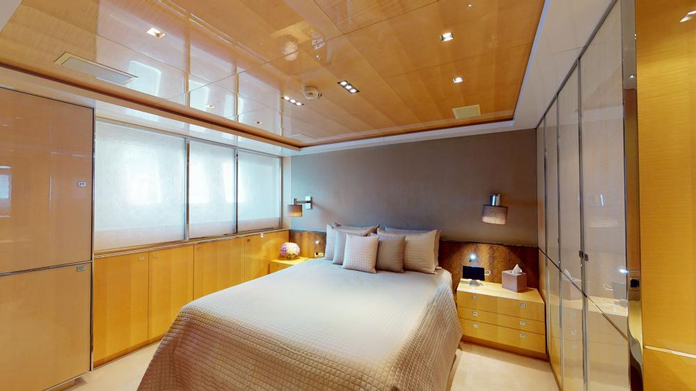 LA PELLEGRINA 1 - Luxury Motor Yacht For Sale - Full Beam VIP Cabin + Four Guest Suites - Img 4 | C&N