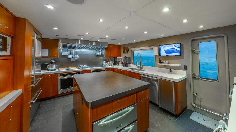 ZEAL - Luxury Motor Yacht For Charter - Galley - Img 1   C&N