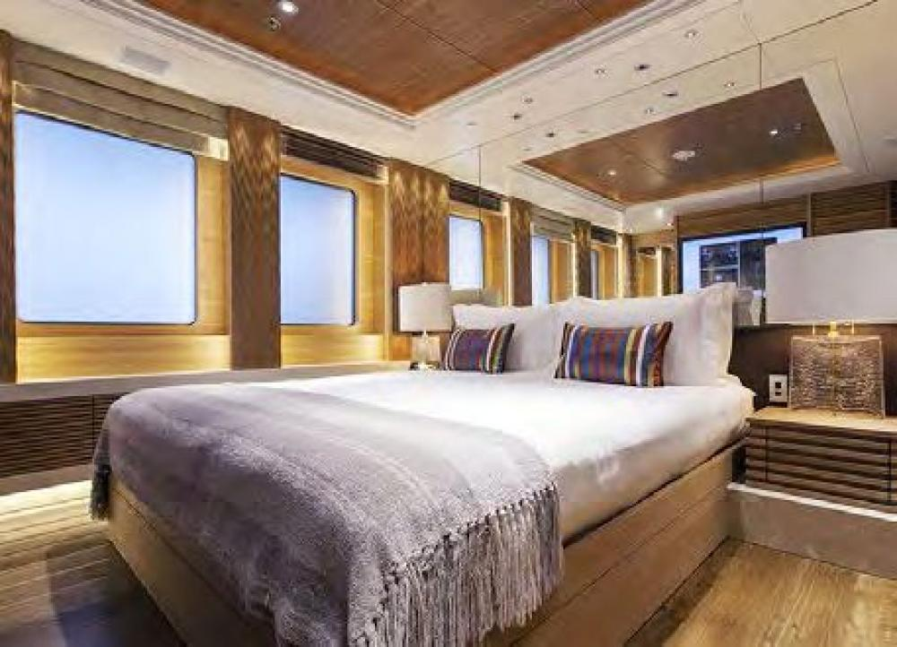 NAIA - Luxury Motor Yacht For Charter - Master Cabin - Img 1 | C&N