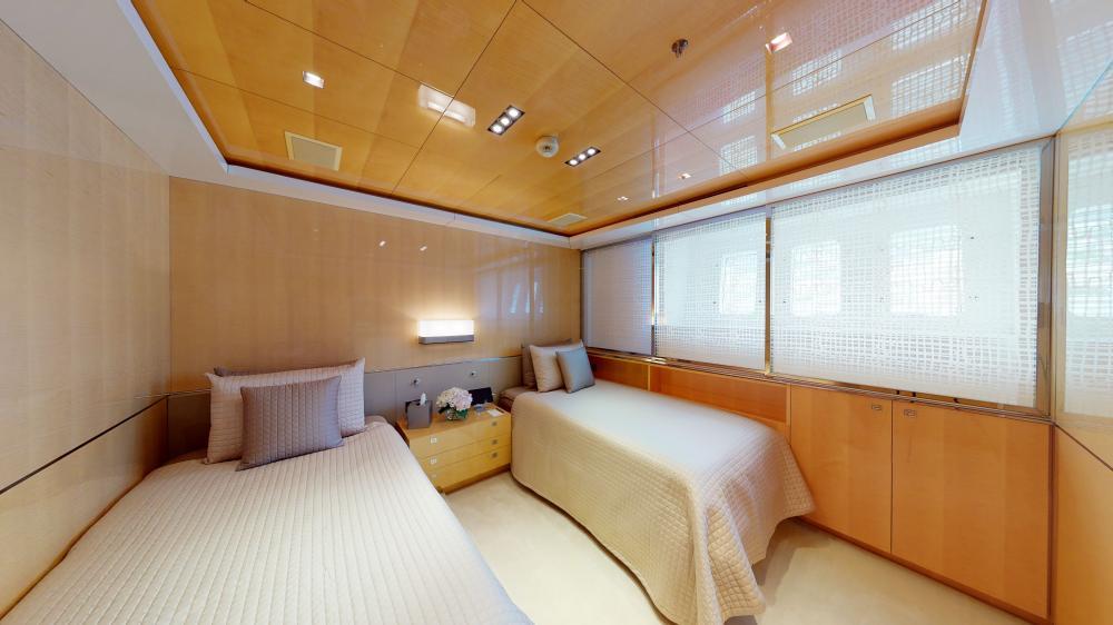 LA PELLEGRINA 1 - Luxury Motor Yacht For Sale - Full Beam VIP Cabin + Four Guest Suites - Img 5 | C&N
