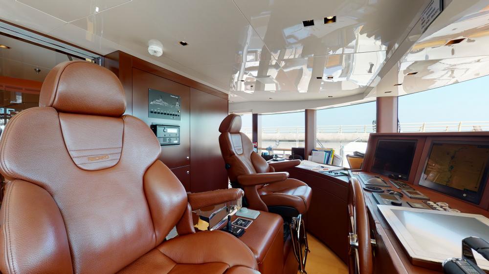 LA PELLEGRINA 1 - Luxury Motor Yacht For Sale - Pilothouse - Img 1 | C&N