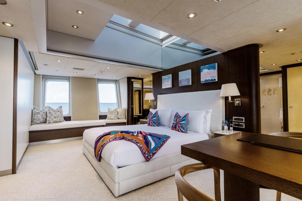 BELLA - Luxury Motor Yacht For Charter - Master Cabin - Img 1 | C&N