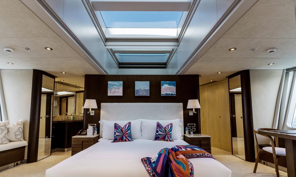 BELLA - Luxury Motor Yacht For Charter - Master Cabin - Img 2 | C&N