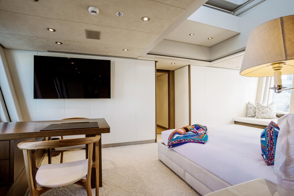 BELLA - Luxury Motor Yacht For Charter - Master Cabin - Img 3 | C&N