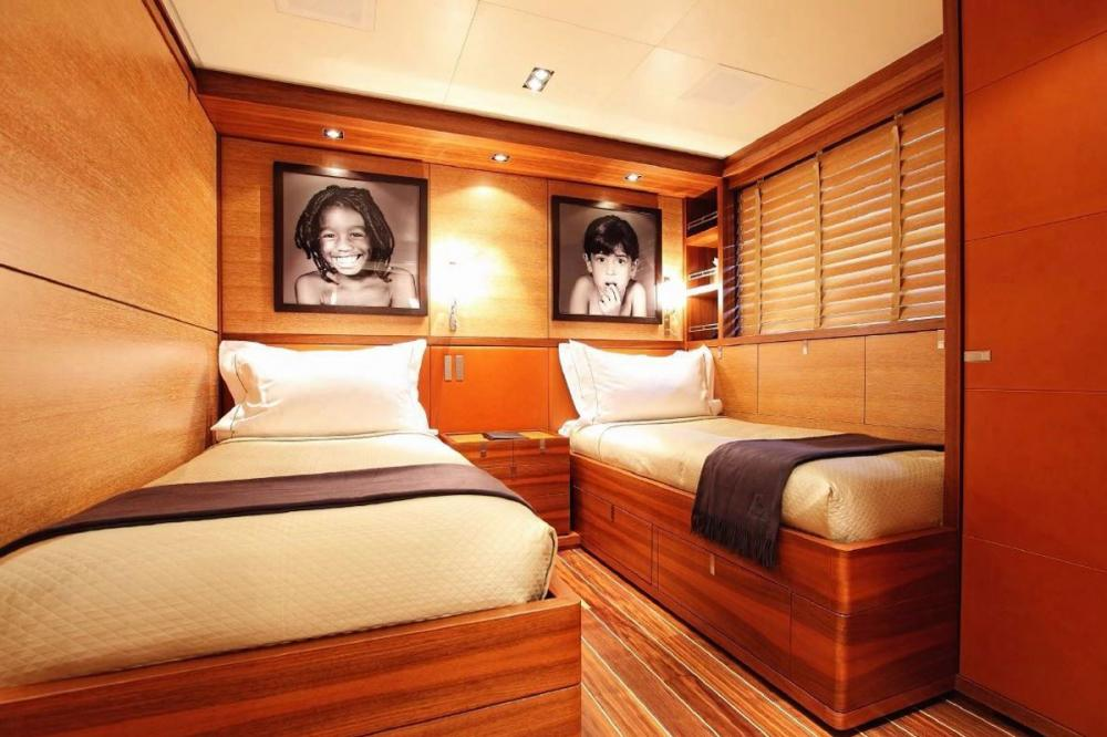 STATE OF GRACE - Luxury Sailing Yacht For Charter - 2 TWIN CABINS - Img 1 | C&N