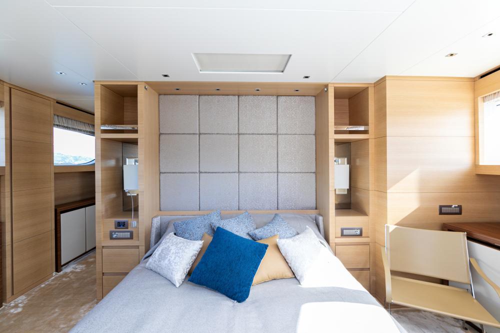 THE UNIFIER KING ABDULAZIZ - Luxury Motor Yacht For Sale - Master Cabin - Img 2 | C&N