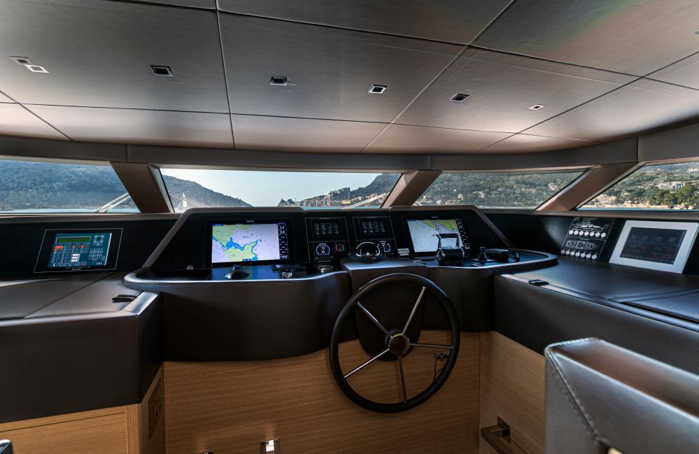 THE UNIFIER KING ABDULAZIZ - Luxury Motor Yacht For Sale - Pilothouse - Img 1 | C&N