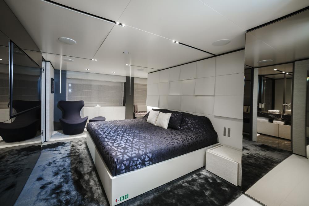 DECEMBER SIX - Luxury Motor Yacht For Sale - Master Cabin - Img 1 | C&N