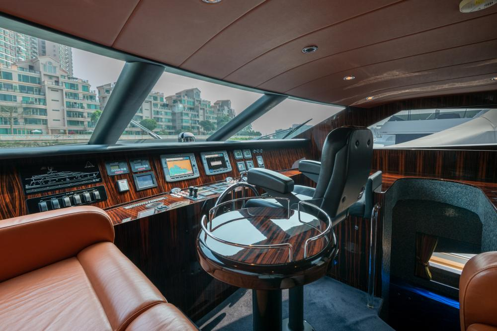 VICTORIOUS - Luxury Motor Yacht For Sale - Pilothouse - Img 1   C&N
