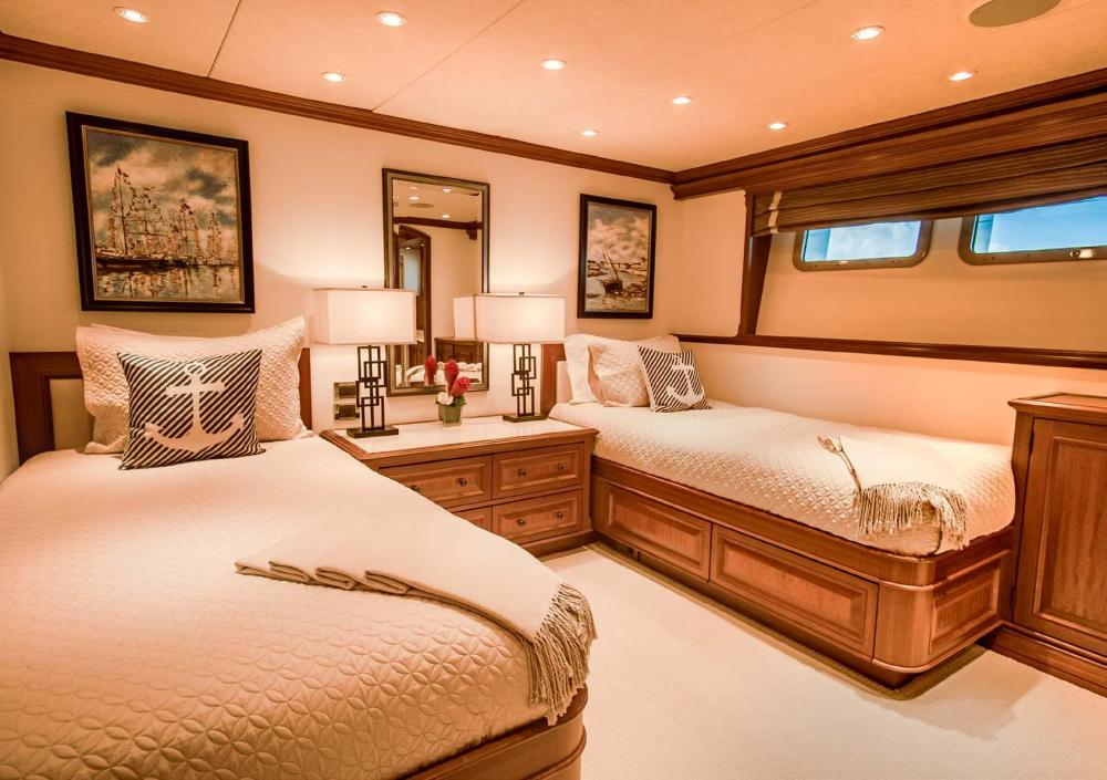 PURE BLISS - Luxury Motor Yacht For Charter - 2 Twin Guest Staterooms - Img 1   C&N