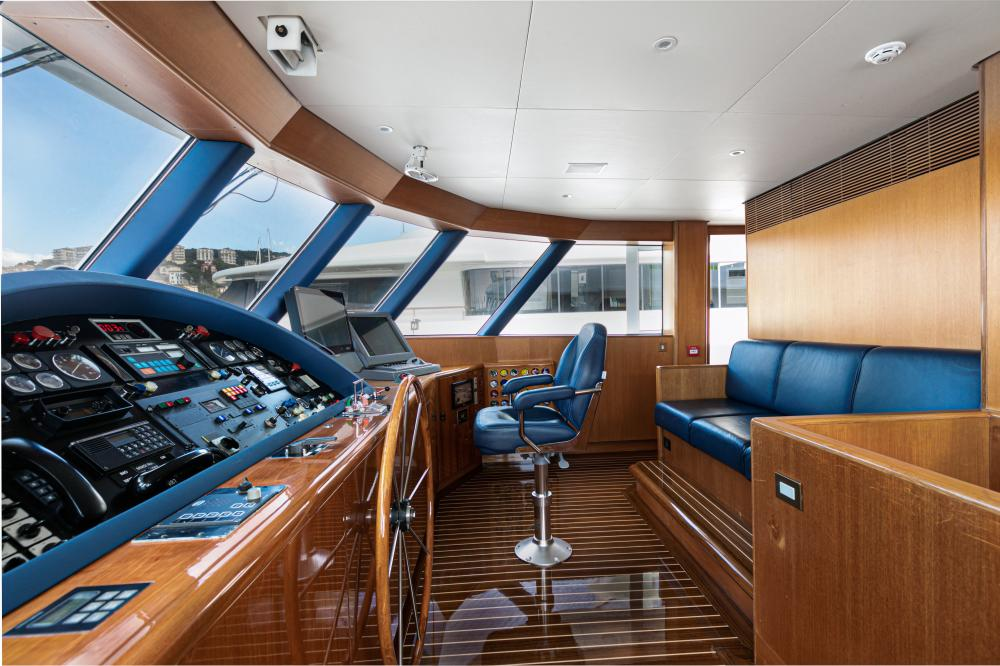 SECRET LOVE - Luxury Motor Yacht For Sale - Pilothouse - Img 1   C&N