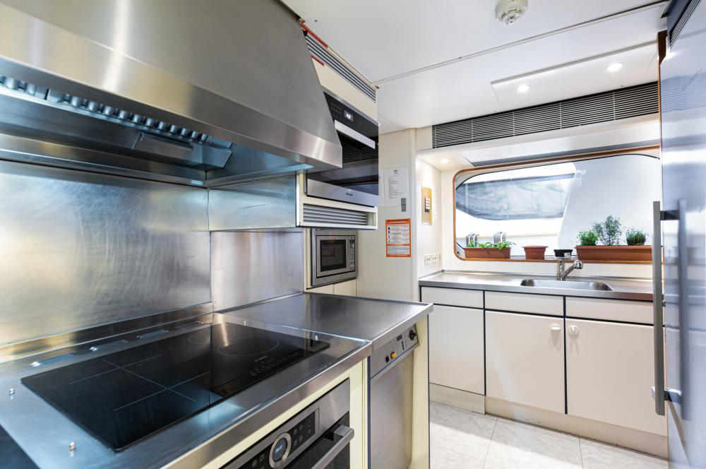 SECRET LOVE - Luxury Motor Yacht For Sale - Galley - Img 2   C&N