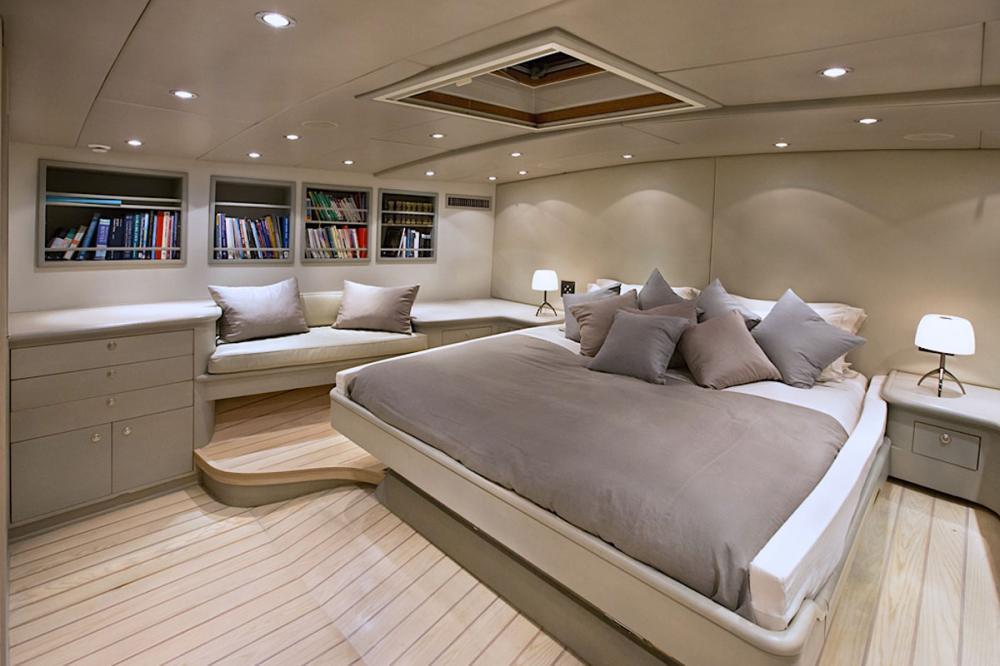 IEMANJA - Luxury Sailing Yacht For Sale - Master Cabin - Img 2 | C&N