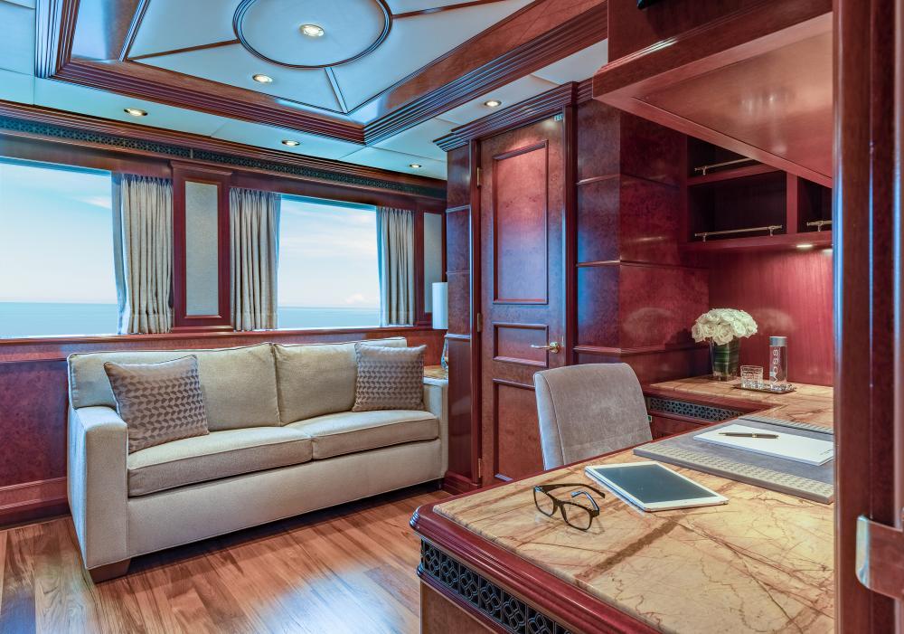 MIA ELISE II - Luxury Motor Yacht For Charter - Master King Suite - Img 3   C&N