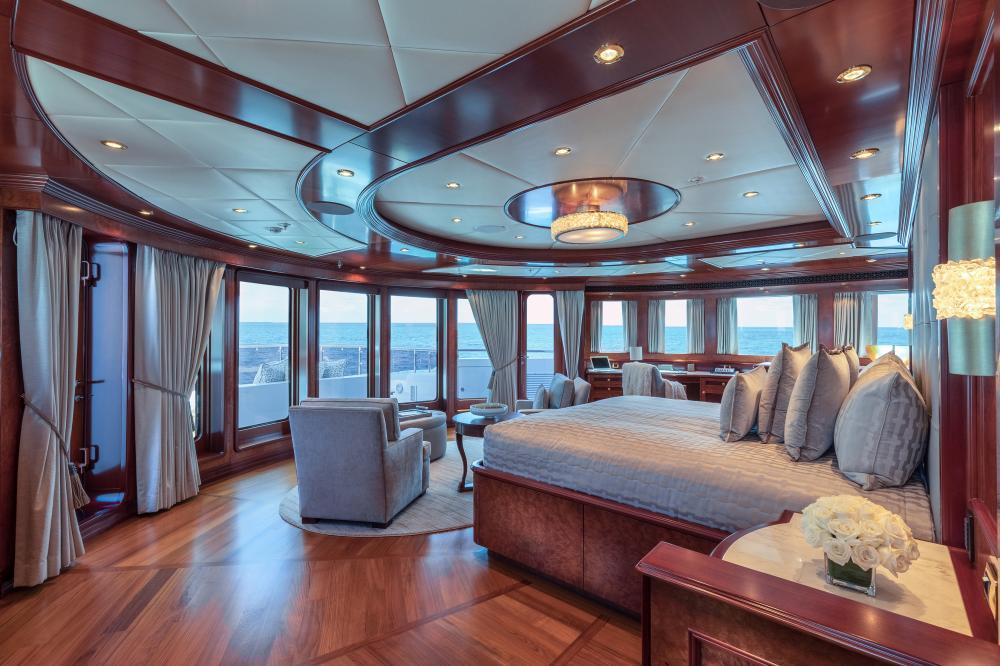 MIA ELISE II - Luxury Motor Yacht For Charter - Master King Suite - Img 1   C&N