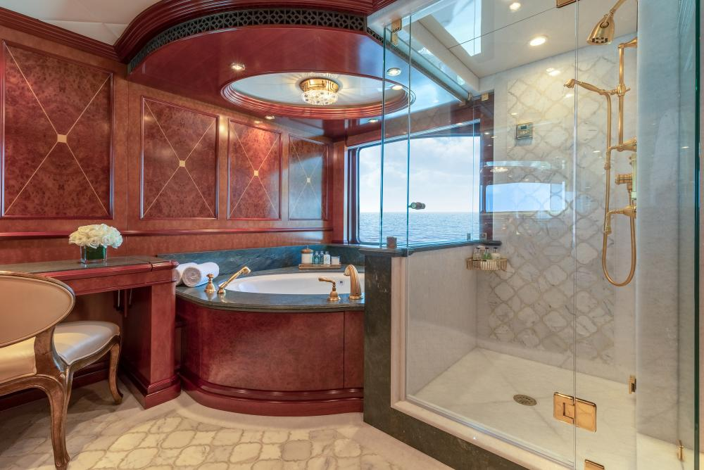 MIA ELISE II - Luxury Motor Yacht For Charter - Master King Suite - Img 2   C&N