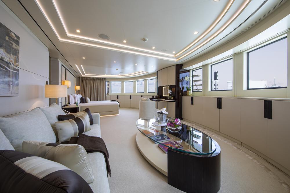 ROMA - Luxury Motor Yacht For Charter - 1 MASTER CABIN - Img 5 | C&N