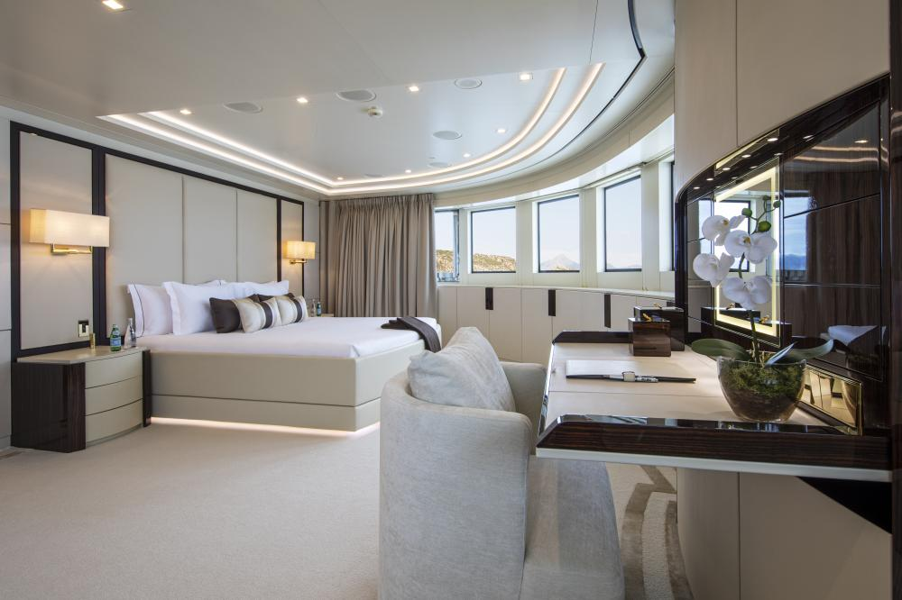 ROMA - Luxury Motor Yacht For Charter - 1 MASTER CABIN - Img 1 | C&N